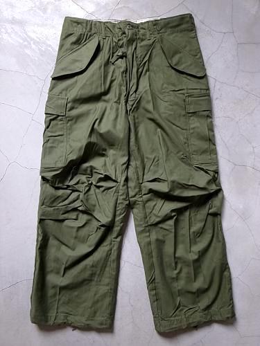 US.ARMY M-65 フィールドパンツ 前期 unisex