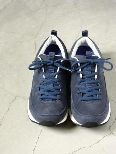 blueover rick ヌバックスニーカー NAVY mens