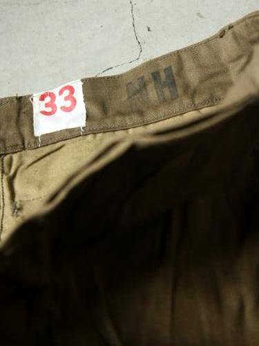 FRENCH ARMY M-47 VINTAGE DEAD STOCK 後期 mens
