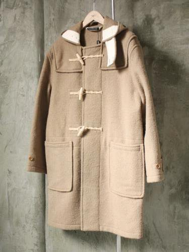 《30%OFF》groverall MONTY ダッフルコート CAMEL mens