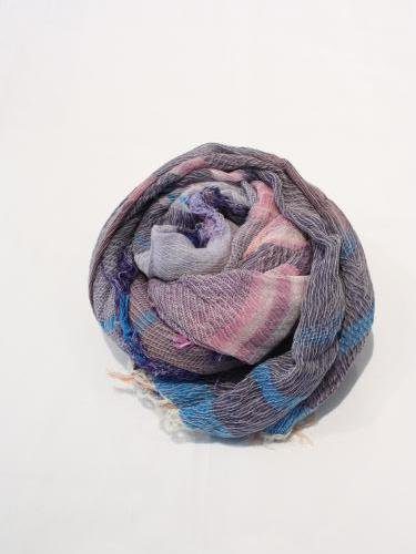 tamaki niime 玉木新雌 roots shawl cotton big