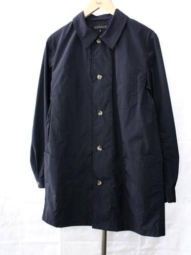 COOCHUCAMP Happy Shirt Coat NAVY unisex