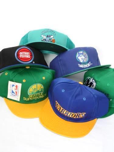 NBA CAP 80s-90s DEADSTOCK unisex