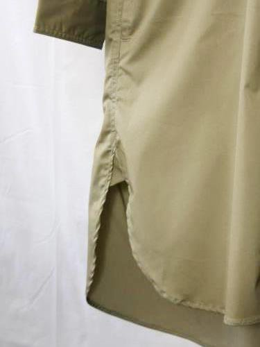《30% OFF》 HAVERSACK ツイルロングシャツ unisex