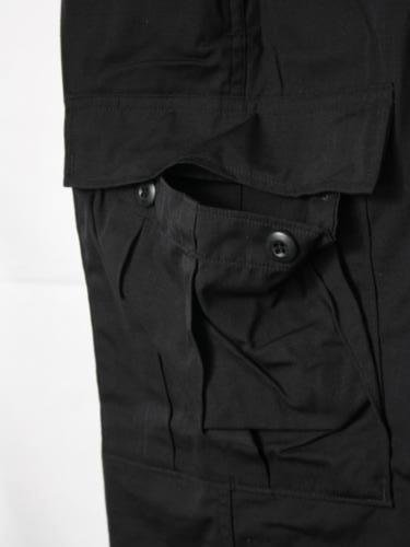 U.S.ARMY BDU CARGO PANTS DEAD STOCK BLACK357 unisex