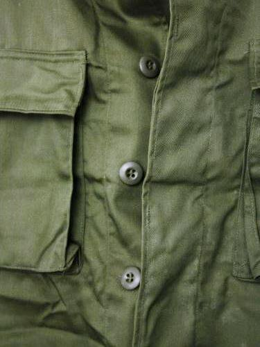 U.S.ARMY BDU JACKET DEAD STOCK OLIVE unisex