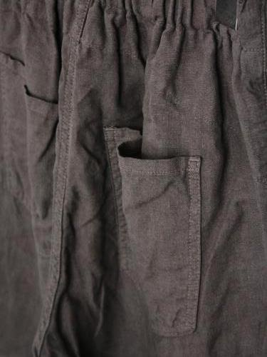 Ordinary fits TRAVEL SHORTS LINEN unisex