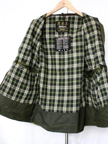 Yoused Barbour リメイクジャケット SAGE / 40 mens