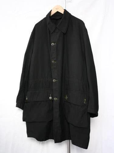 SWEDEN ARMY (スウェーデン軍) M59 COAT USED BLACK unisex
