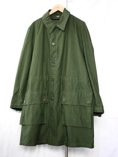 SWEDEN ARMY (スウェーデン軍) M59 COAT USED OLIVE unisex
