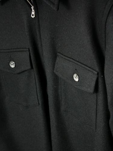 《30% OFF》 HAVERSACK ATTIRE ハーフジッププルオーバーシャツ mens