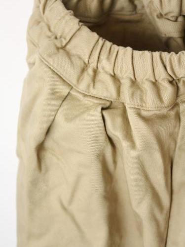 Ordinary fits BALL PANTS BEIGE ladies