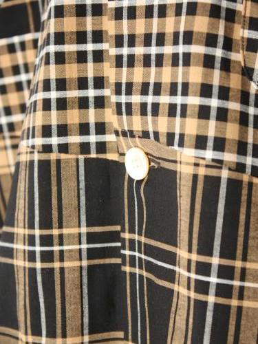 《50% OFF》 HAVERSACK ATTIRE パッチワークチェック シャツジャケット mens