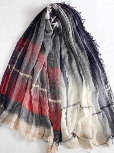 tamaki niime 玉木新雌 roots shawl cotton big