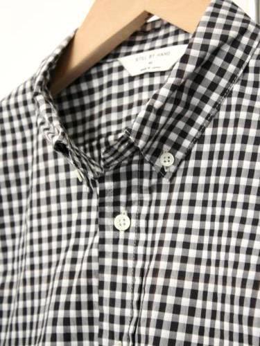 《30%OFF》 STILL BY HAND ギンガムチェックBDシャツ mens