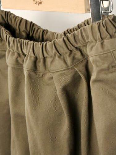 Ordinary fits BALL PANTS KHAKI ladies
