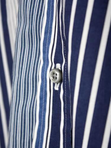 《50% OFF》 Harriss マルチストライプシャツ mens