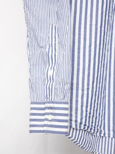 《30% OFF》 KEATON CHASE USA クレイジーストライプシャツ mens
