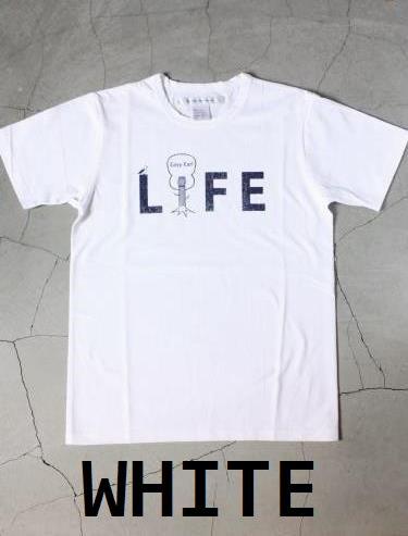 EEL products プリントTee 【LIFE】 unisex