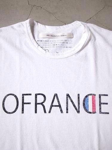 EEL products プリントTee 【OFRANCE】 unisex