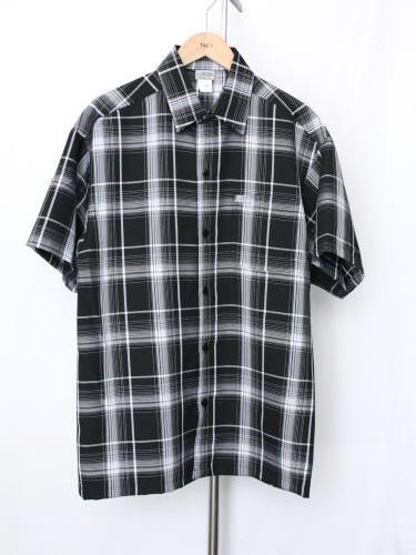 《30% OFF》CalTop オンブレチェック半袖シャツ mens