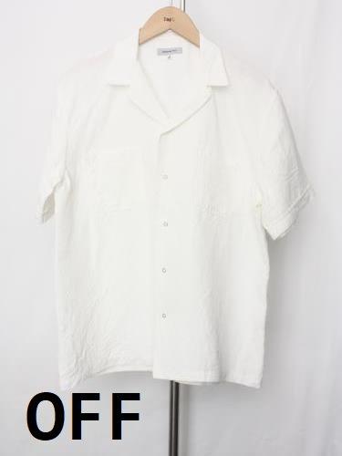 Ordinary fits オープンカラーリネンシャツ unisex