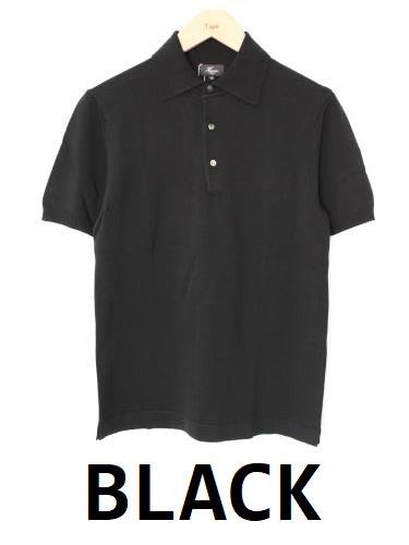 《50% OFF》 Harriss コットンニットポロシャツ mens