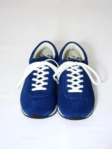 blueover mikey スウェードスニーカー NAVY BLUE unisex