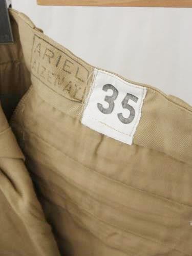 フランス軍 M52 チノパン DEADSTOCK mens
