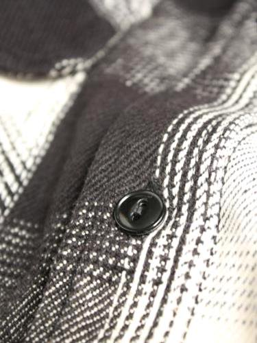 BIGMIKE ヘビーフランネルシャツ mens