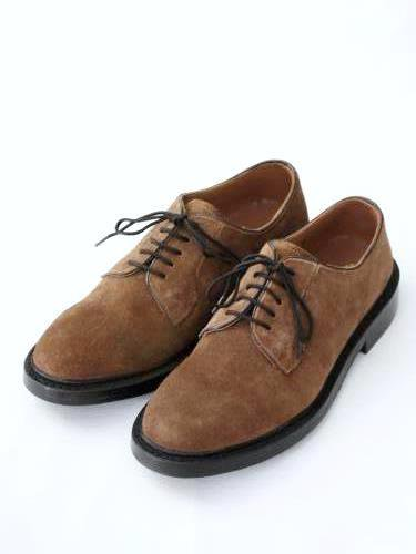 WALLSALL プレーントゥスウェードシューズ CAMEL SUEDE mens