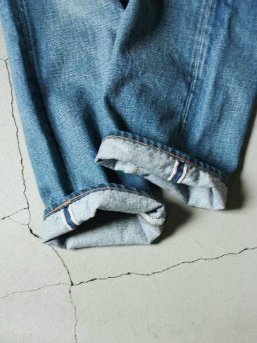 Ordinary fits 5ポケットアンクルデニム USED WASH unisex