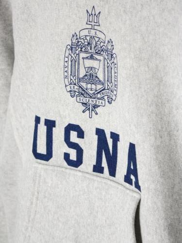Champion リバースウィーブスウェットパーカー USNA mens