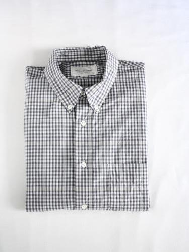 STILL BY HAND スタンダードBDシャツ CHECK mens
