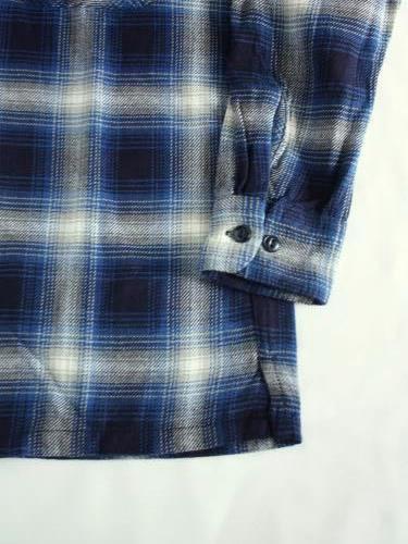 BIGMIKE ライトフランネルシャツ mens