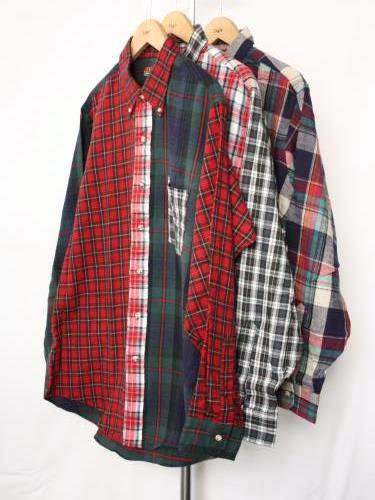 90's CLEVE SHIRT MAKERS フランネルBDシャツ DEADSTOCK mens