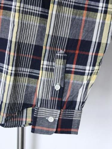 Tapir別注 weac. マドラスチェックシャツ mens