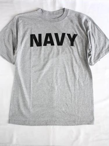 SOFFE US.NAVY プリントTシャツ unisex
