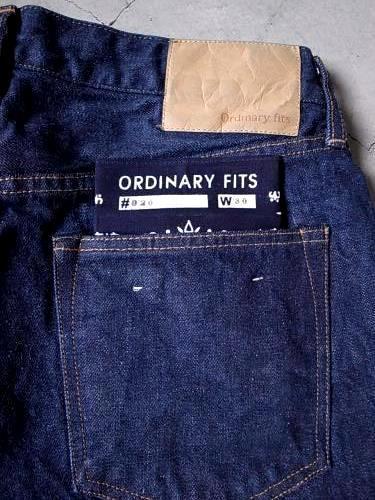 Ordinary fits 5ポケットアンクルデニム ONE WASH unisex