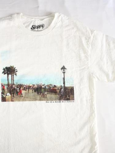 SLOPPY プリントTee 【Redondo Beach】 unisex