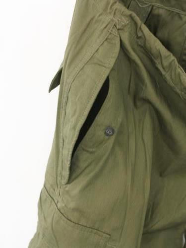US.ARMY M-51 ARCTIC PANTS DEADSTOCK unisex