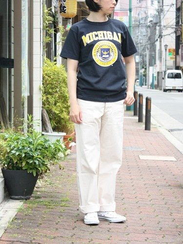 Champion カレッジプリントTee T1011 【MICHIGAN】 unisex