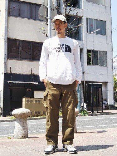 TPR SPORTS 長袖プリントTee【BASKETBALL】 unisex