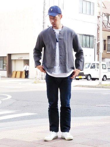 STILL BY HAND リネンシャツジャケット mens