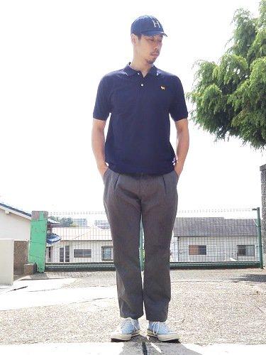 Tapir別注 weac. パグちゃんポロシャツ unisex