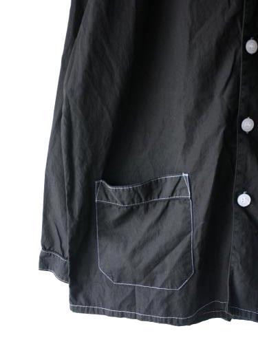イタリア軍 スリーピングシャツ BLACK mens