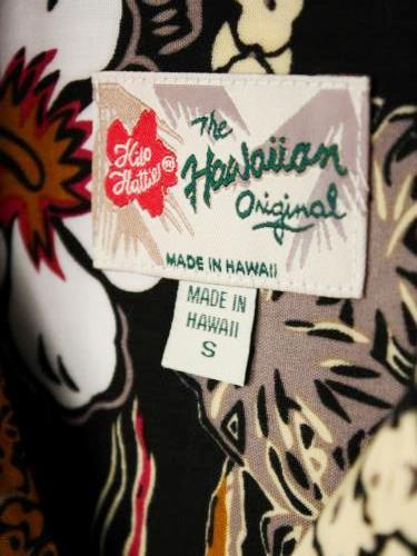 《30% OFF》 Hilo Hattie ハワイアンシャツ BLACK mens