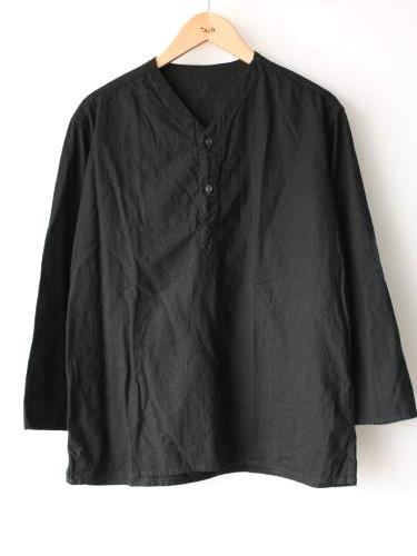 ロシア軍 スリーピングシャツ BLACK後染め unisex