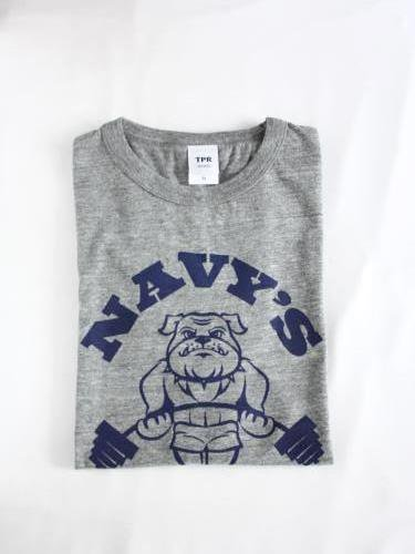 TPR  SPORTS NAVY'S プリントTee unisex