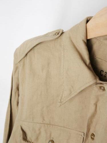 フランス軍 M-47 チノシャツ DEADSTOCK mens